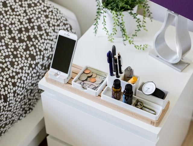 Organize everything properly